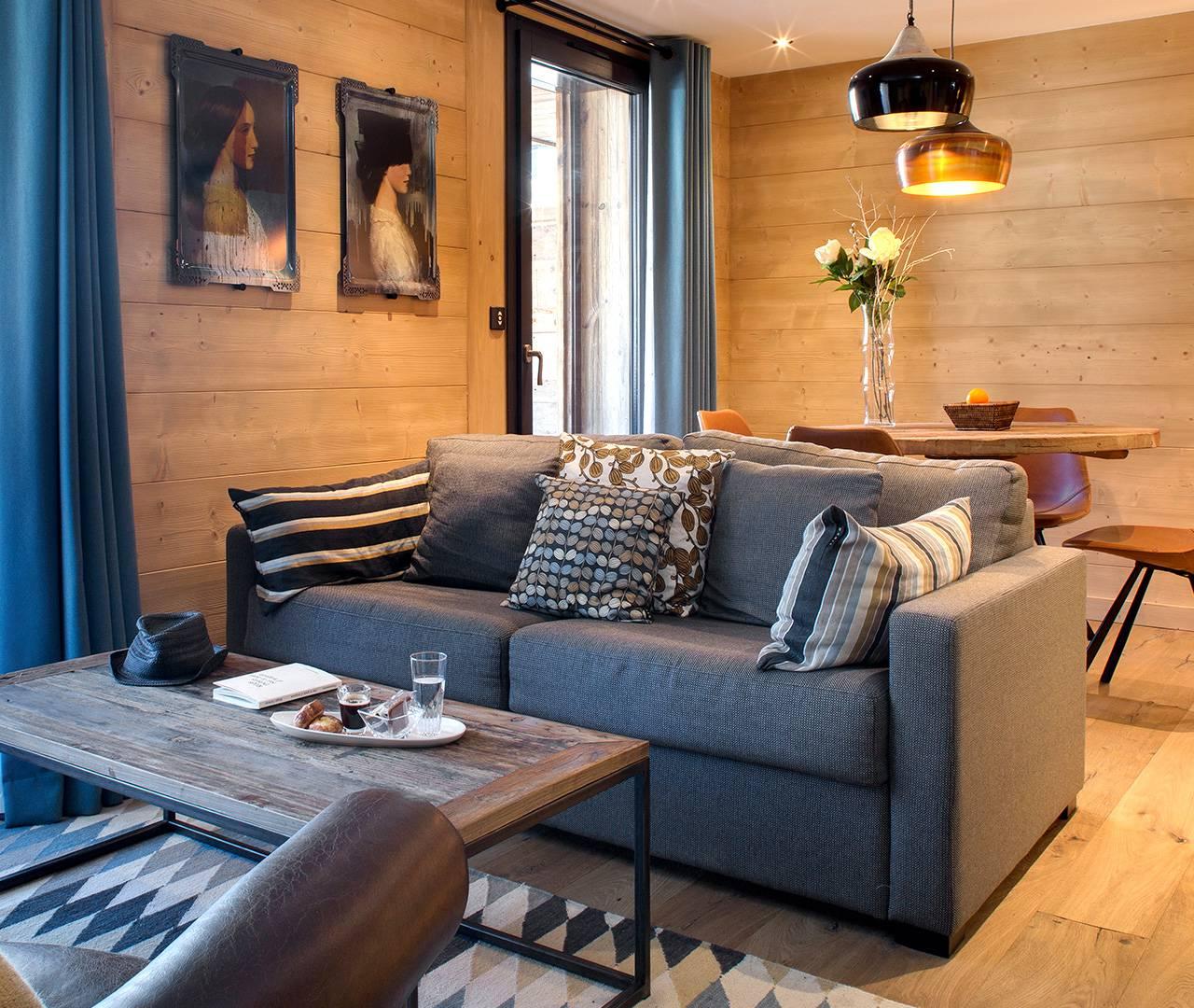bedroom suite sofa la Marmotte