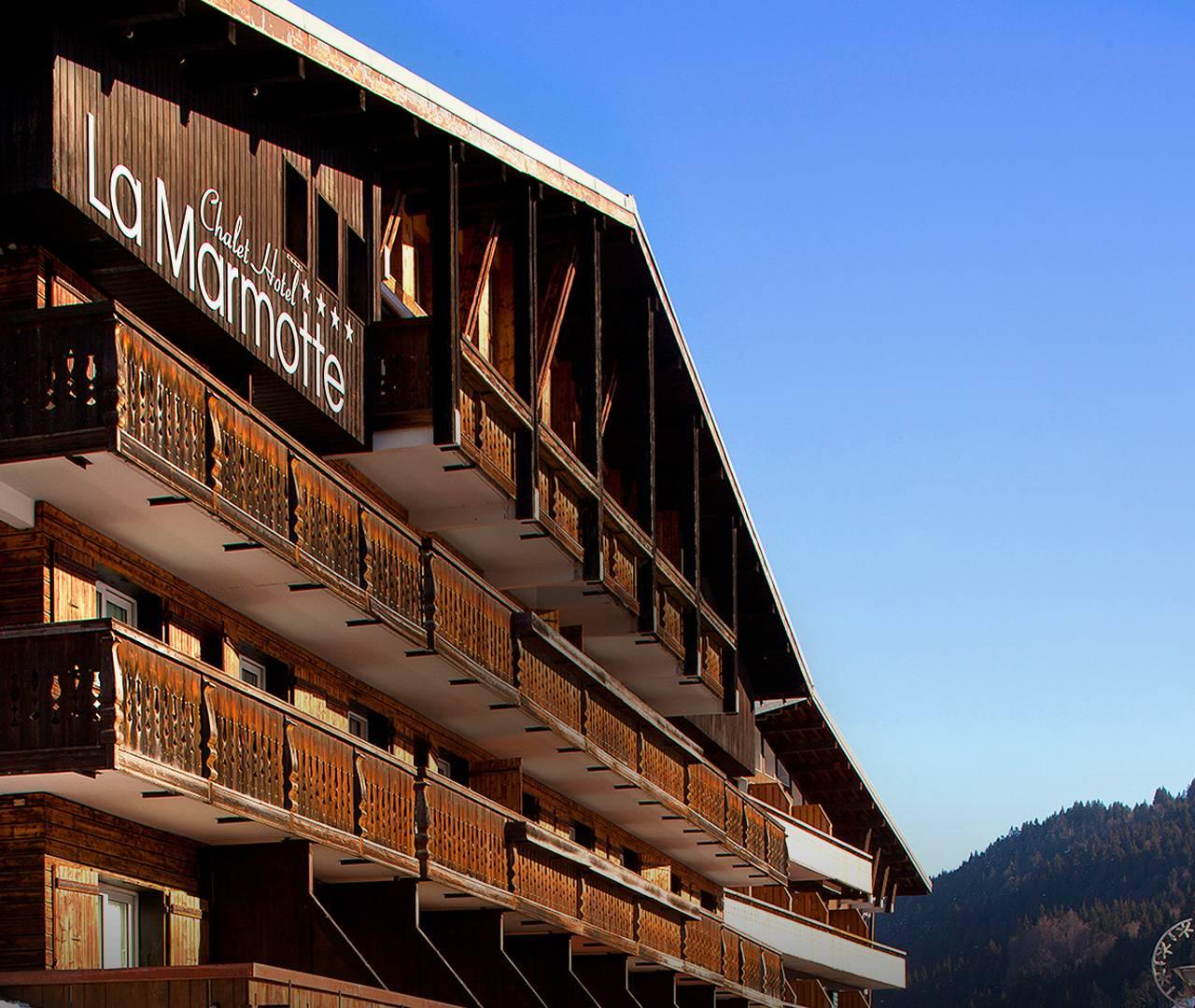 hotel la Marmotte les gets