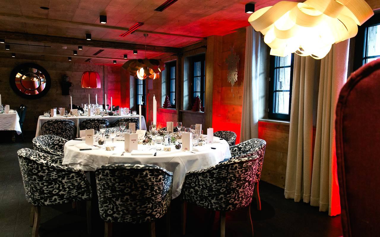 reception wedding hotel les gets