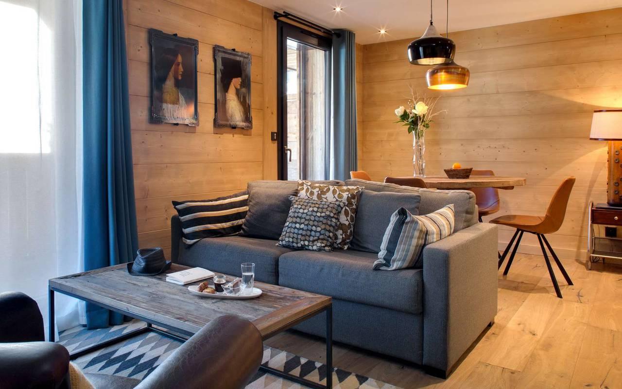 living room confort la marmotte