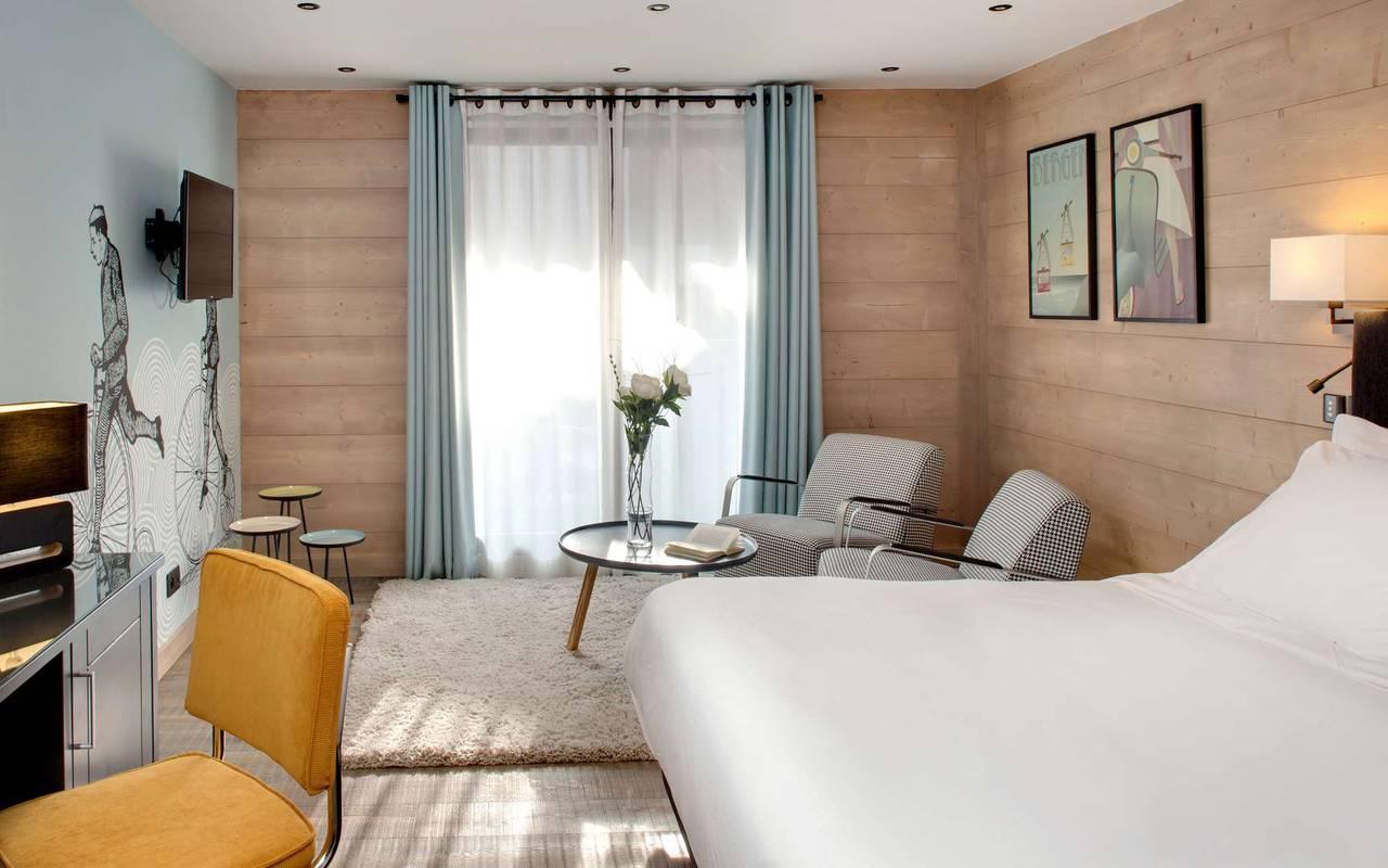 junior suite hotel la marmotte