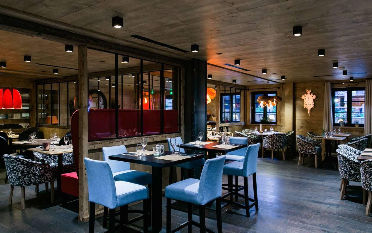 restaurant 4 star hotel les gets