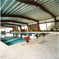 historic 1972 indoor pool