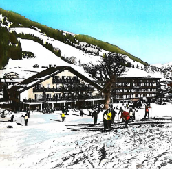 history 1968 ski slope les gets