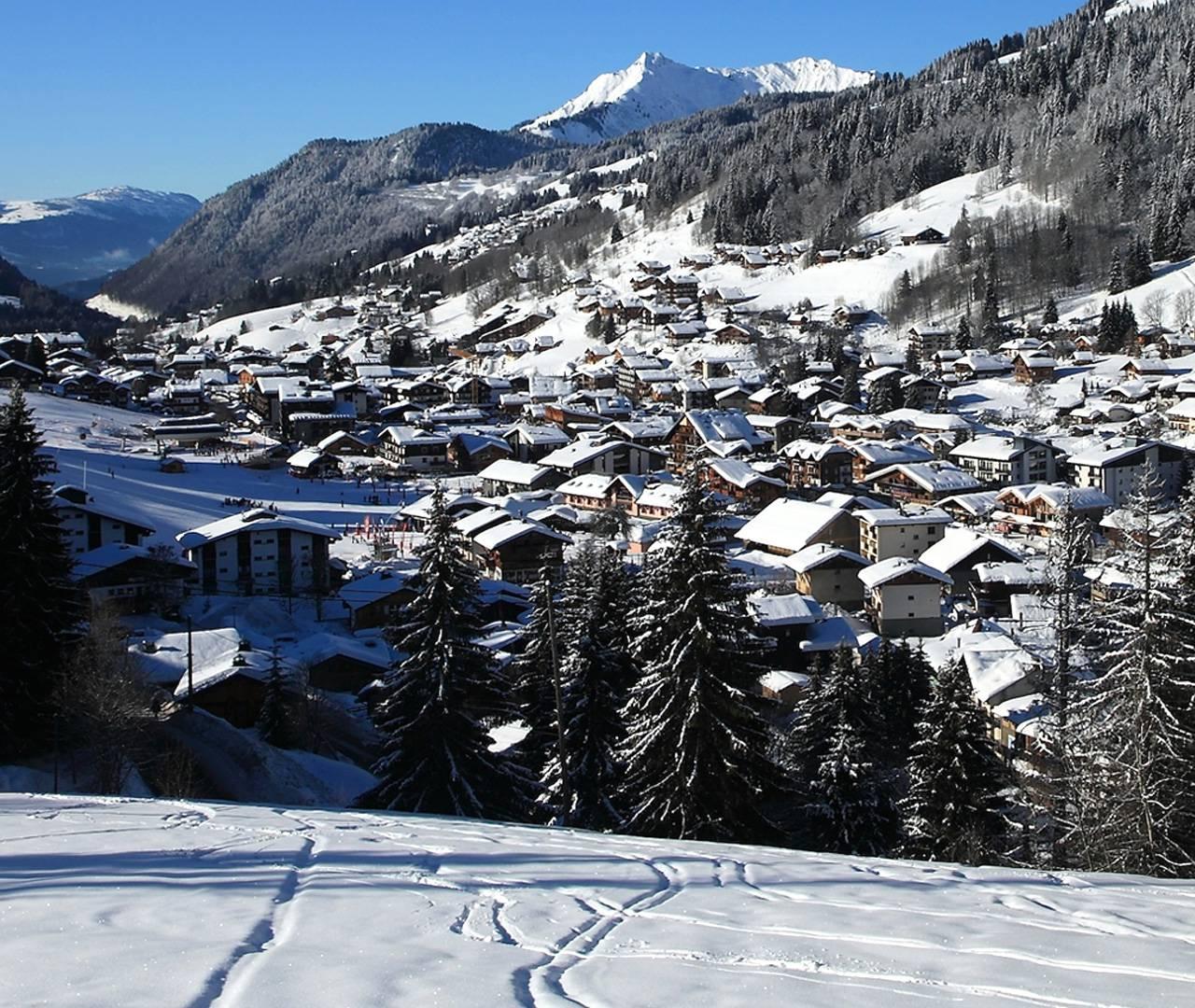 piste de ski hotel la marmotte