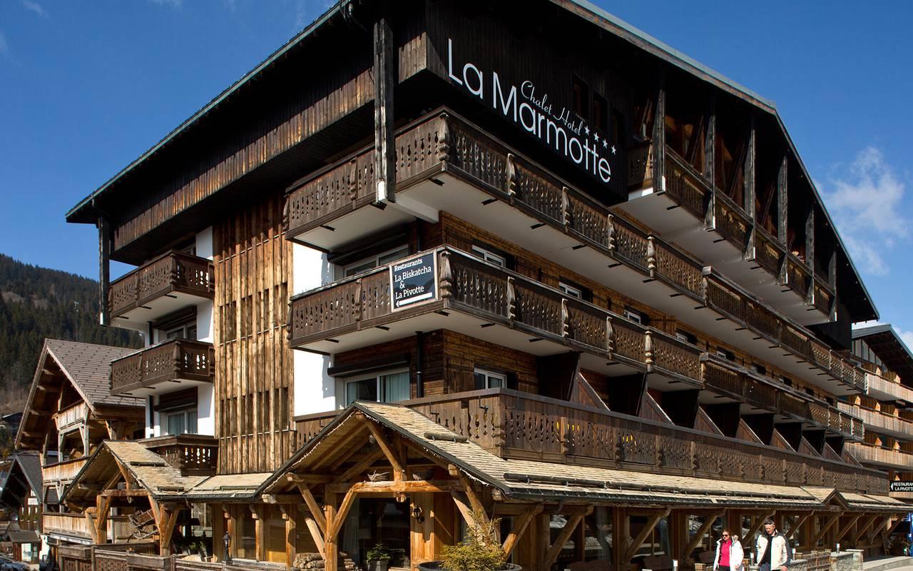 hotel chalet la marmotte