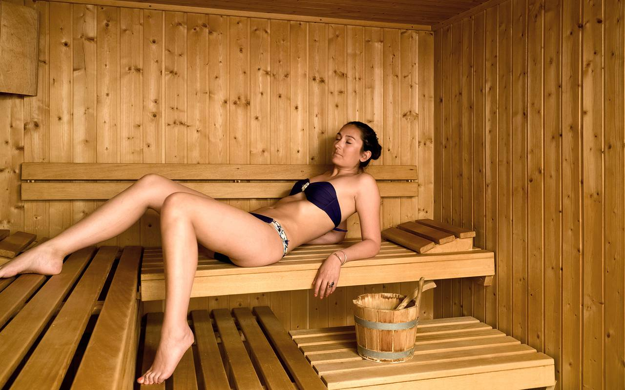 sauna hotel les gets