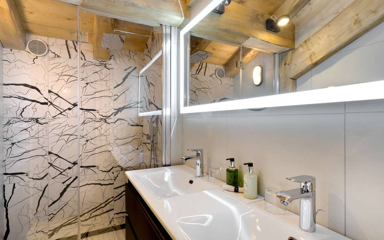 salle de bain la marmotte