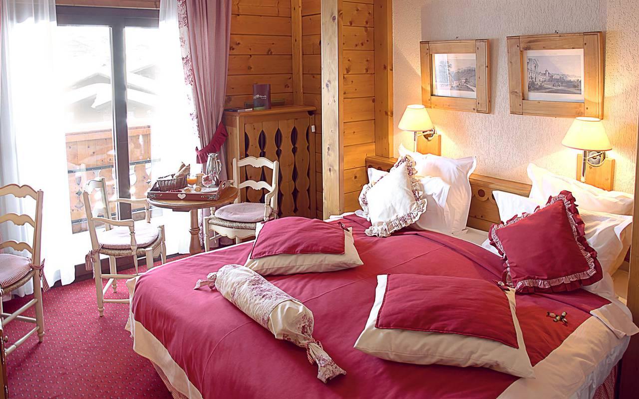 chambre classique hotel la marmotte