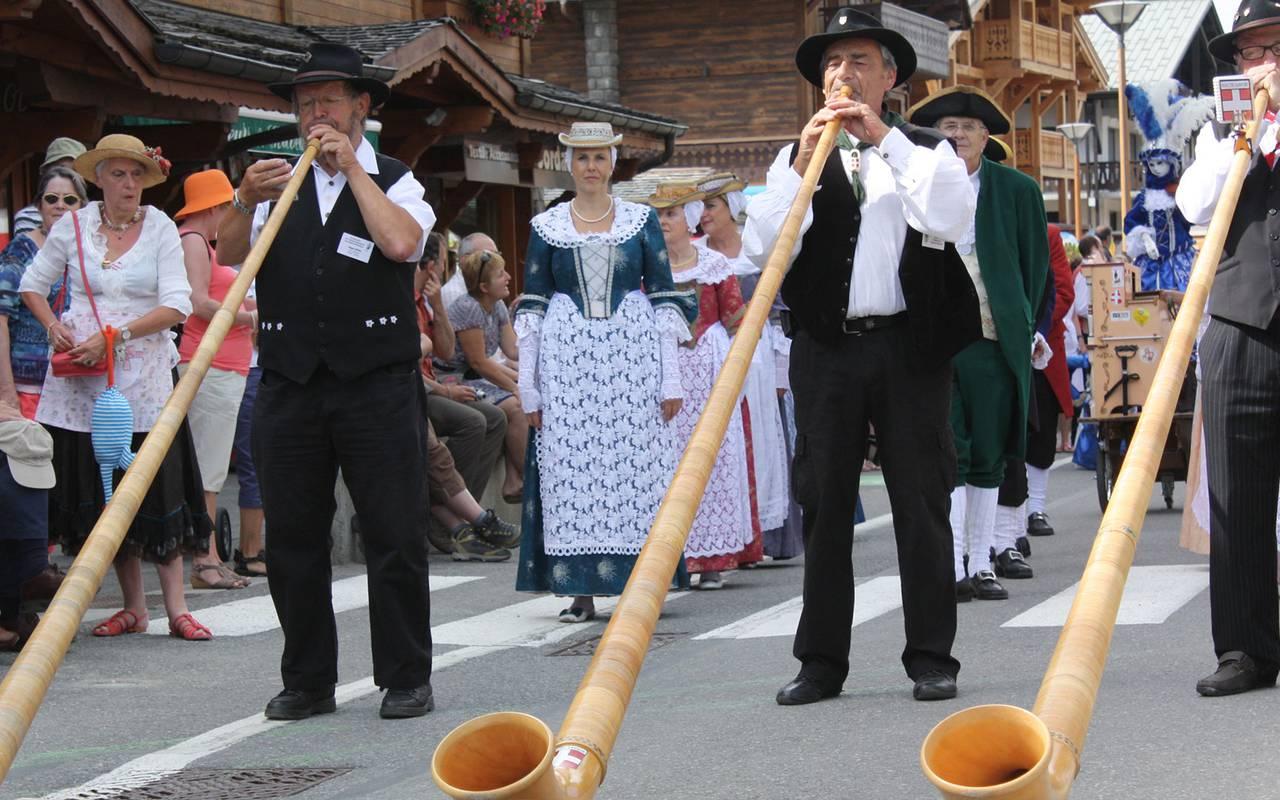 tradition fête les gets