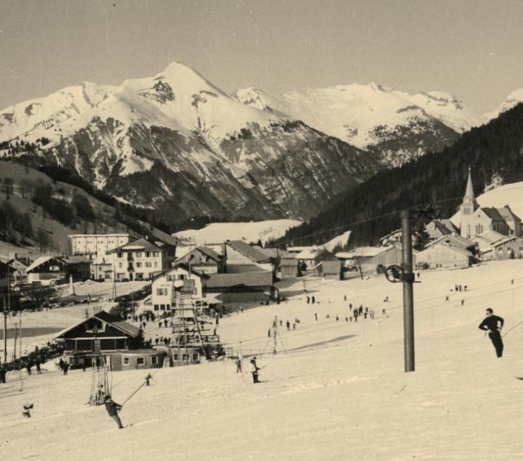 photo piste de ski la Marmotte