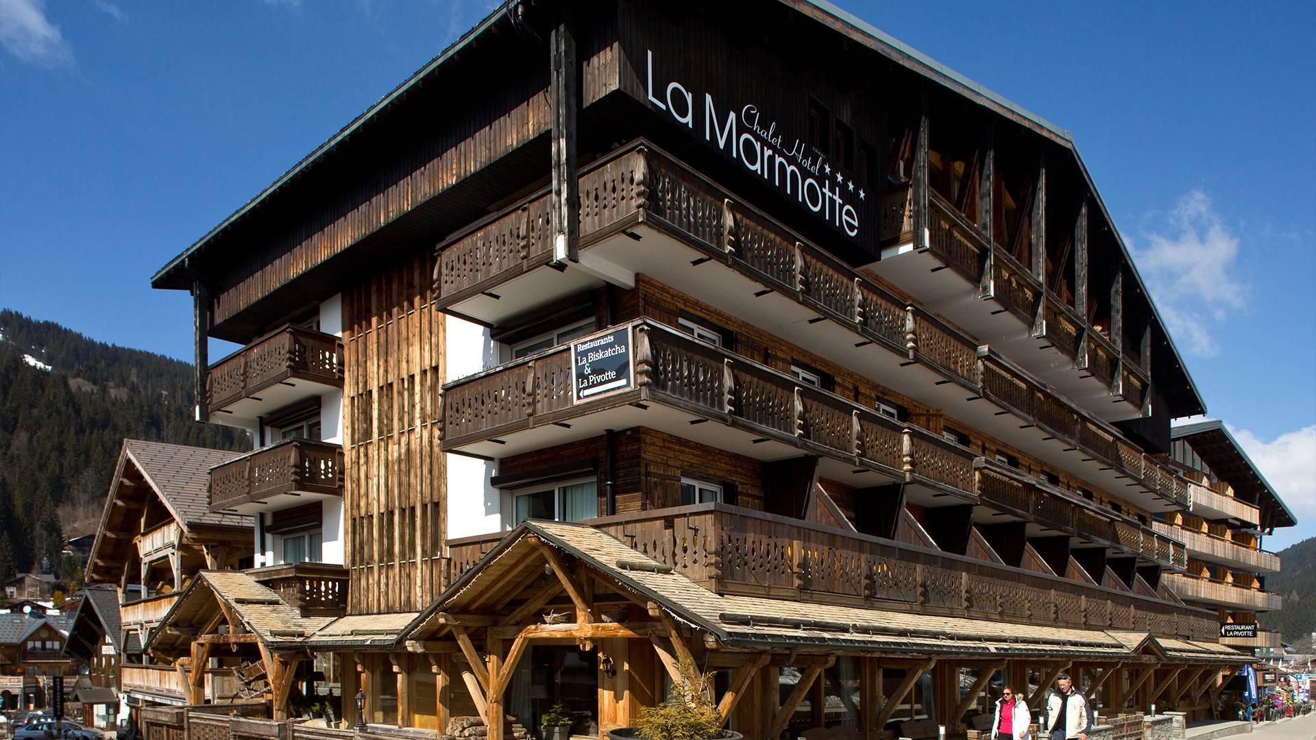 vente hotel station de ski