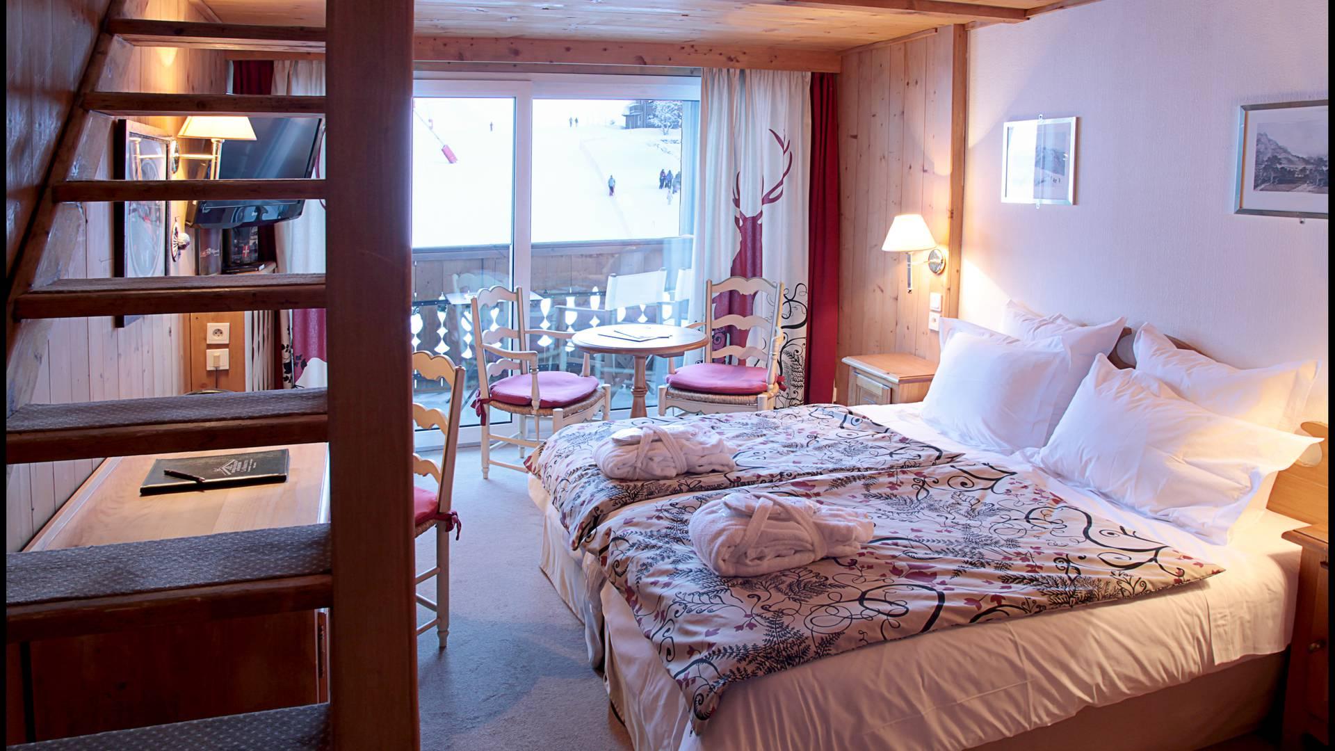 Réserver hôtel Les Gets : la chambre Chalet
